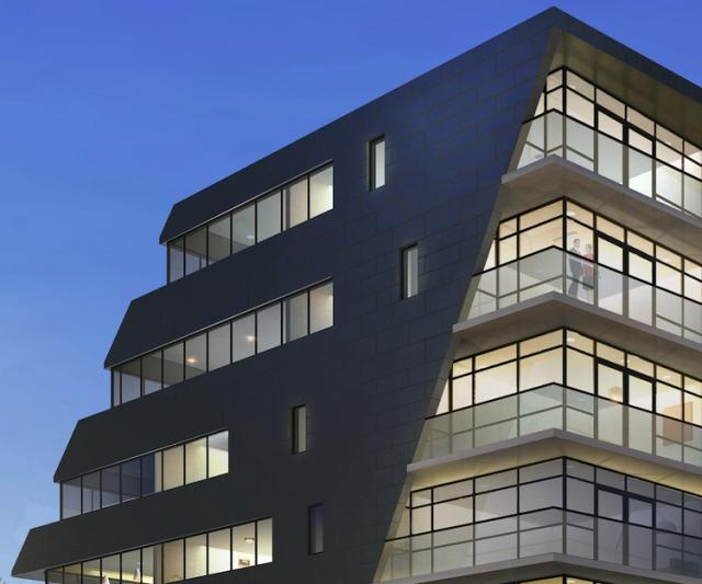 Hive Lofts in Etobicoke by Symmetry Developments and Teeple Architects