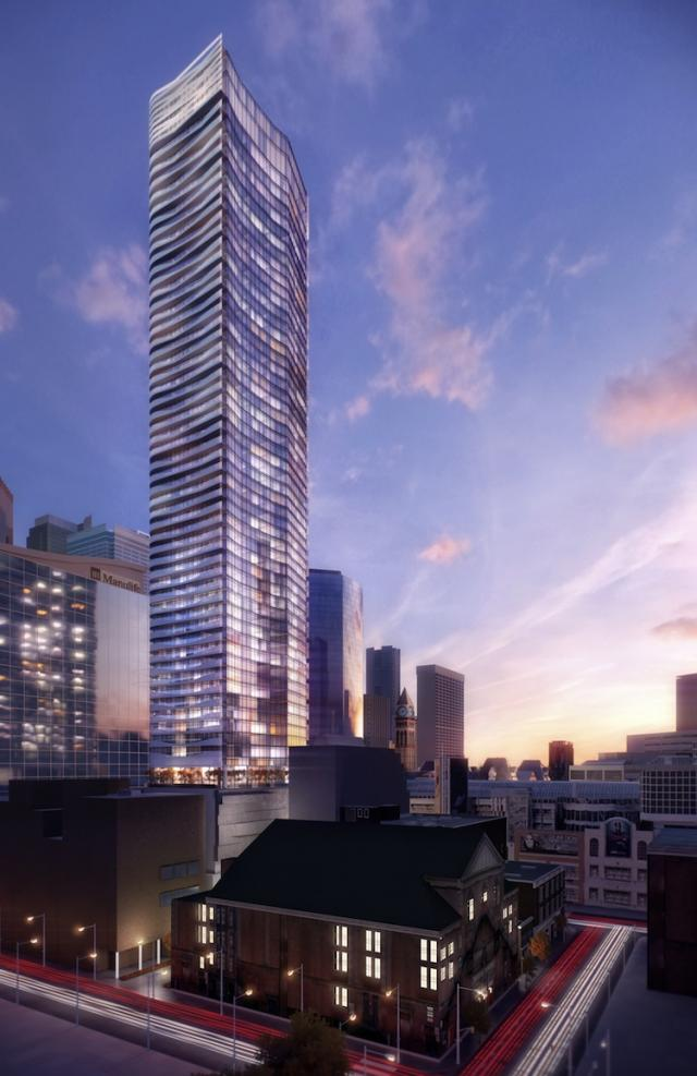 Massey Tower Condos, Toronto, by MOD Developments, design by Hariri Pontarini