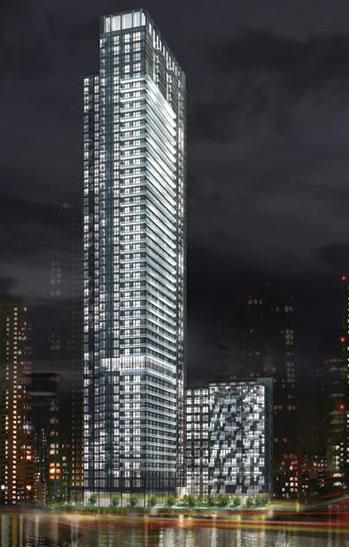 300 Front Street West condos in Toronto by Tridel and Wallman Architects
