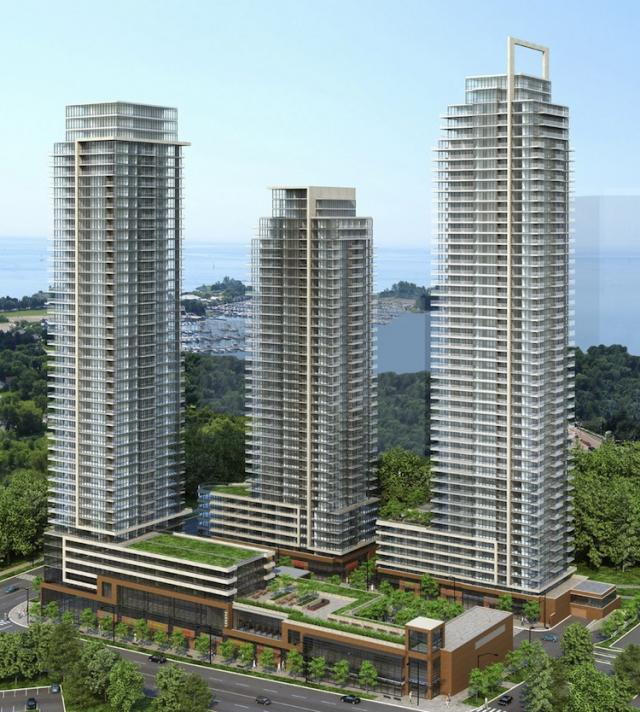 Westlake towers in toronto by Onni Group with Page + Steele / IBI Group
