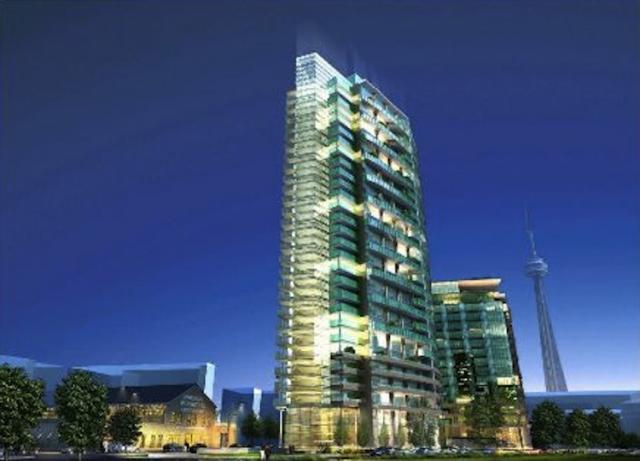 Liberty Place in Toronto by CanAlfa Group with IBI Group Architects