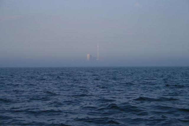 Toronto skyline from Lake Ontario