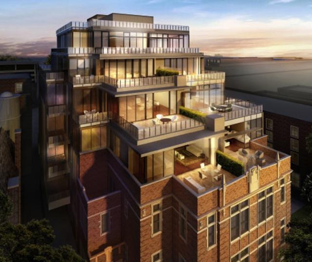 36 Hazelton, Alterra Group, Zinc Developments Group, Toronto Condos