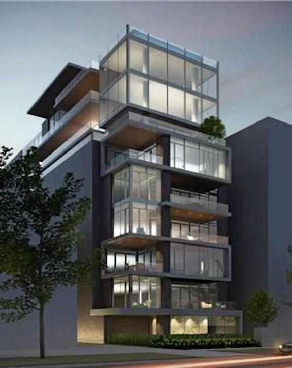 A quick look at freed developments 39 500 wellington street for Modern condo building design