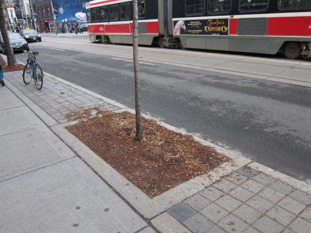 Queen Street paving treatment Toronto