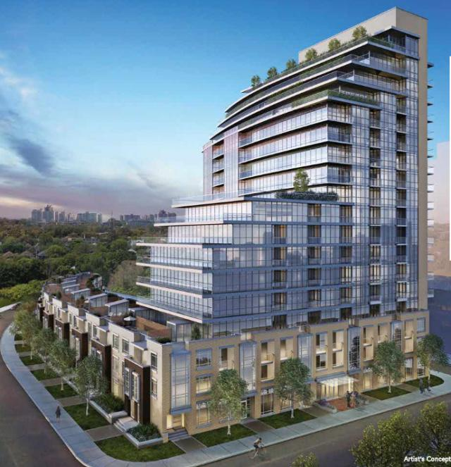 The Berwick, Toronto Condos, Andrin Homes, The Brown Group of Companies Inc.