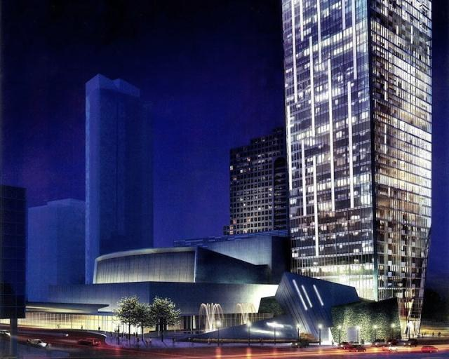 L Tower Toronto by Studio Libeskind for Cityzen, Castlepoint and Fernbrook