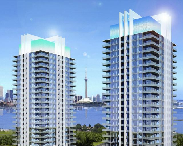 South Beach condos Toronto by Aresenault Architect and II By IV for Amexon