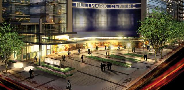 Mixed-use Hullmark Centre, Toronto. Developed by Tridel & Hullmark
