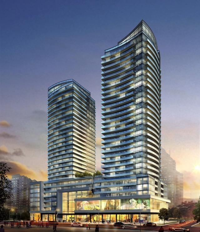 The Madison on Eglinton is by Madison Homes and Kirkor Architects.