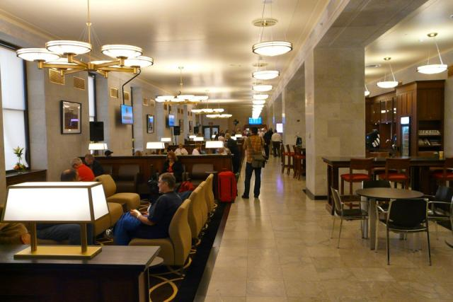 VIA Rail Panorama Lounge at Union Station, Toronto