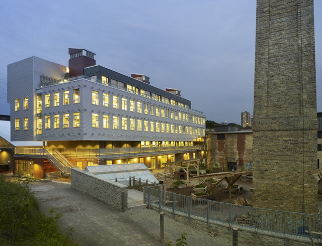Evergreen Brick Works in Toronto by Diamond Scmitt Architects