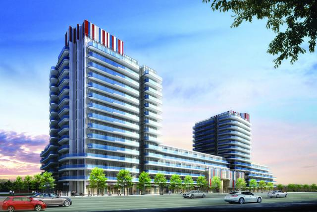 Xpression condos in Richmond Hill by Zancor Homes with Quadrangle Architects