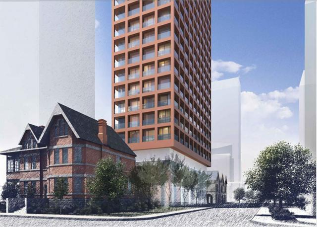 Selby Development by Cityzen in Toronto on Sherbourne with BKL Architecture