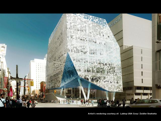 Ryerson Student Learning Centre Toronto, Zeidler Partnership Architects/Snøhetta