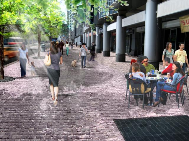 Queens Quay redevelopment in Toronto by Waterfront Toronto, DTAH and West 8