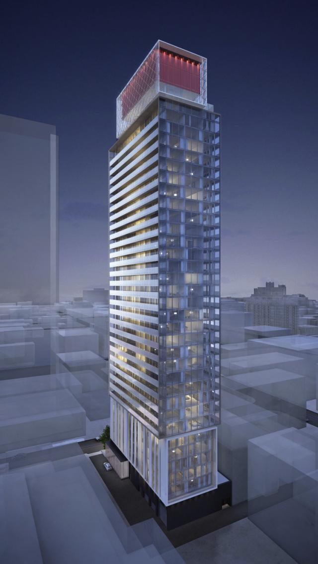 King Charlotte condos Toronto, by Lamb Development Corporporation