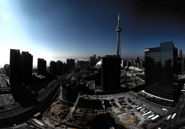 Downtown Toronto and Southcore Financial Centre, image courtesy of pmurdoch