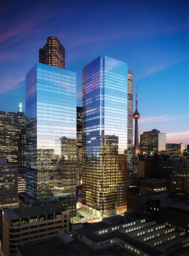 Bay Adelaide Centre Toronto by Brookfield Properties