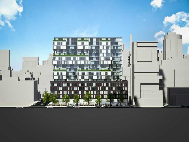 oneeleven Bathurst, Harhay Developments, Carttera, Core Architects