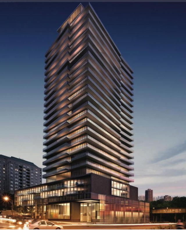 MYC Condos in Toronto by Cresford Developments with architectsAlliance