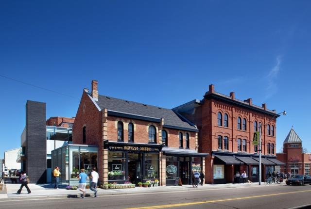 The Shops at Summerhil, image courtesy of Audax Architecture