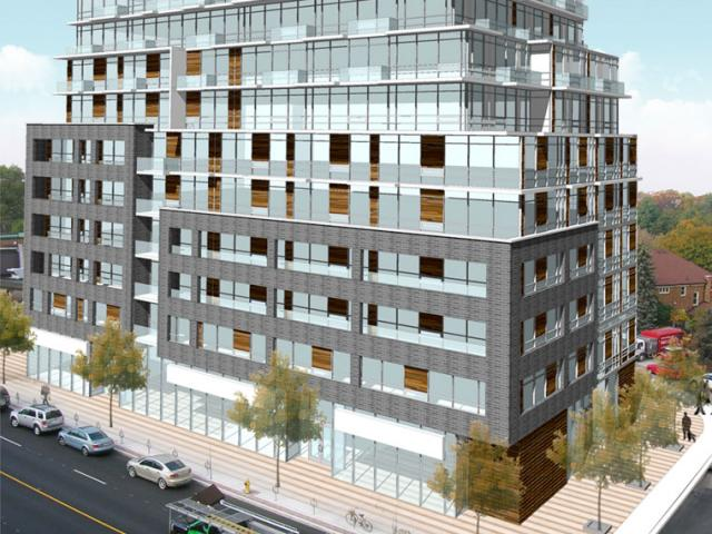 1990 and 2114 Bloor West will be developed by North Drive with Quadrangle.