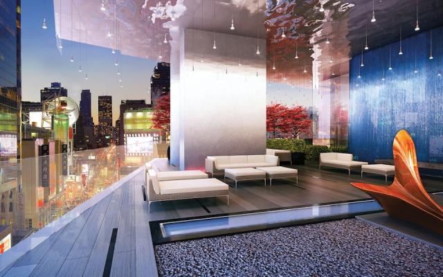 Massey Club Amenity Terrace, at Massey Tower condos by Mod Developments