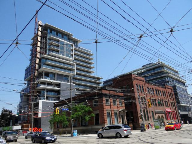 SIX50 King West condos, Toronto. Developed by Freed Developments.