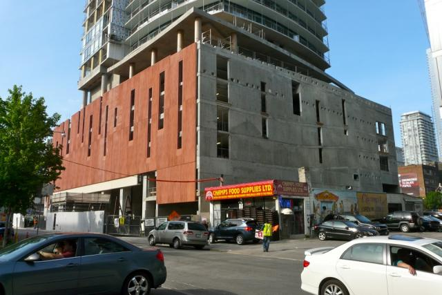 The Daniels Corporation's Cinema Tower condos in Toronto under construction