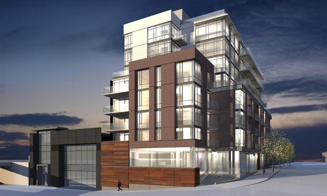 Streetcar Developments Two Gladstone condo Toronto, TACT Architecture