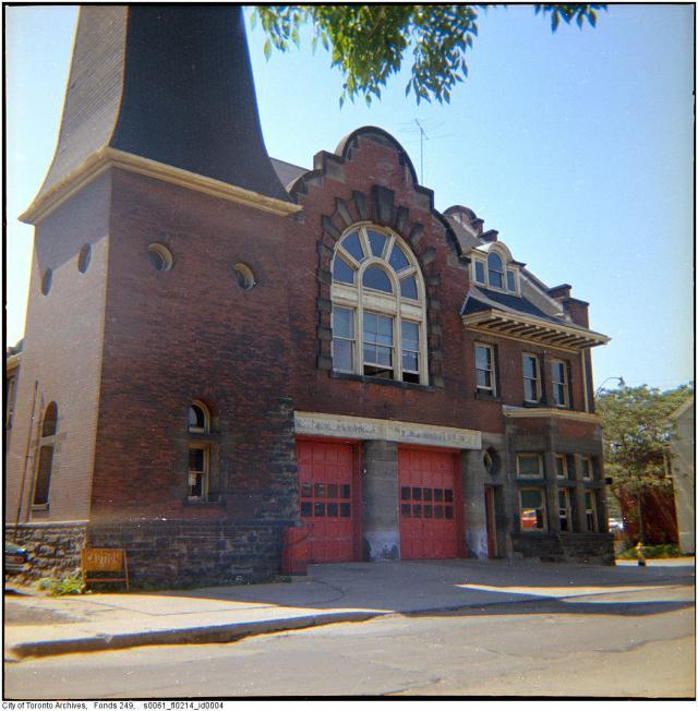 Berkeley Street Firehall, 1971 (Now the Alumnae Theatre)