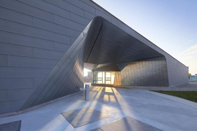 Sherbourne Common Pavillion, image by Shai Gil, courtesy of Teeple Architects