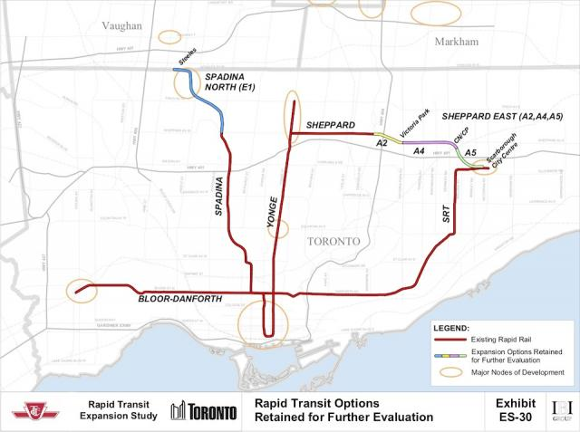 Rapid Transit Expansion Study of 2001/2002