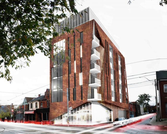 Origami Lofts, Toronto condos, by Teeple Architects for Symmetry Developments
