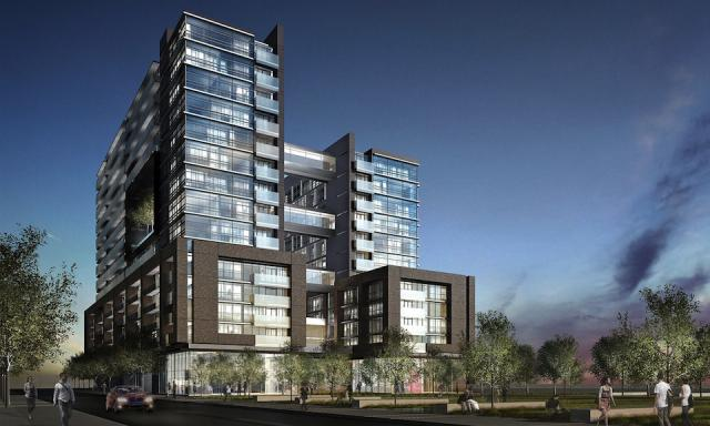 Edge at Triangle Park condos Toronto, by Tact Architecture for Urbancorp & Plaza