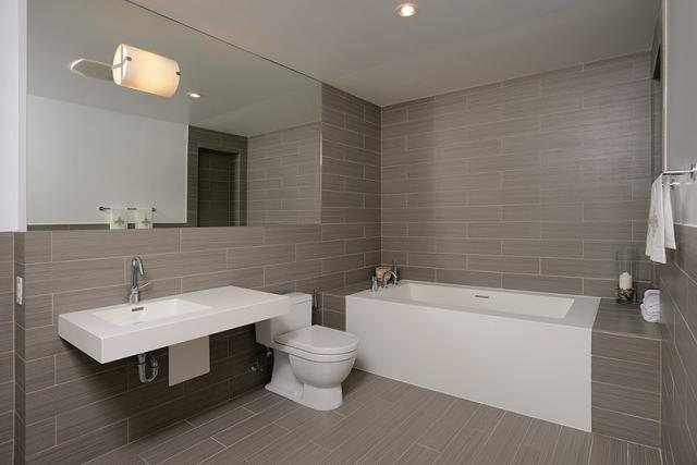 Bathroom in suite 3203 at 33 Mill, Toronto penthouse condo