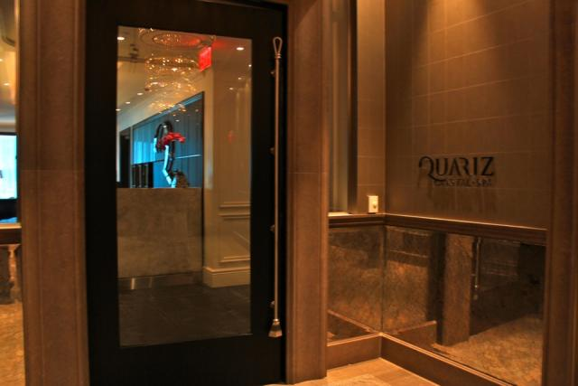 Spa Entrance at the Trump International Hotel and Tower Toronto