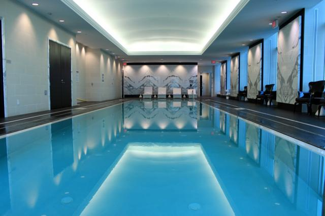 Swimming Pool at the Trump International Hotel and Tower Toronto