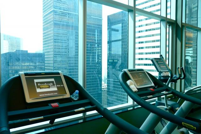 Fitness Centre at the Trump International Hotel and Tower Toronto