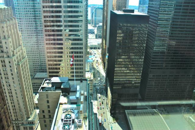 View from the Trump International Hotel & Tower Toronto by Talon International
