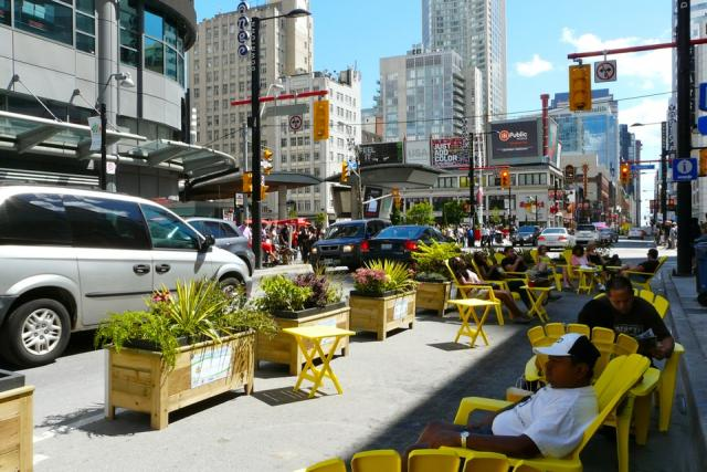 Celebrate Yonge takes over Yonge Street in Downtown Toronto