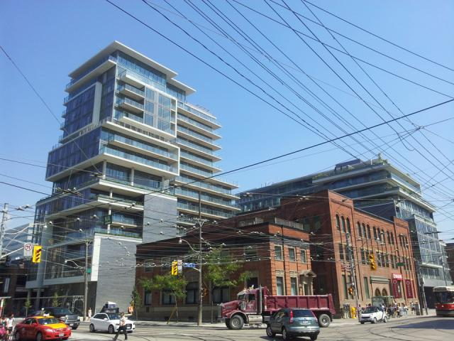 Freed Developments' SIX50 King Street West Condos, Toronto. Designed by Core.