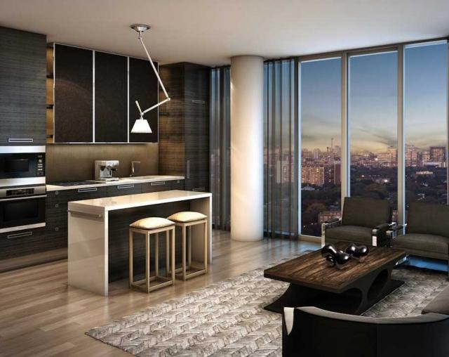 Lifetime Developments' Yorkville Condominiums, Toronto. Wallman Architects.
