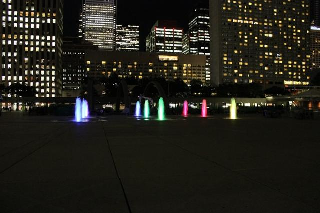 Nathan Phillips Square in Toronto by Plant Architect, Perkins + Will Architect