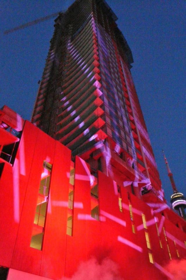 Cinema Tower condos in party mode as The Daniels Corporation celebrates TIFF
