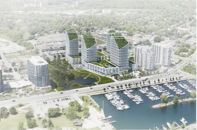 Harmony Village in Barrie by City Core Development