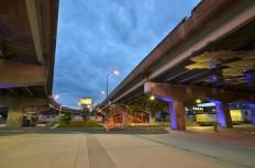 Underpass Park, Toronto. Built by Waterfront Toronto