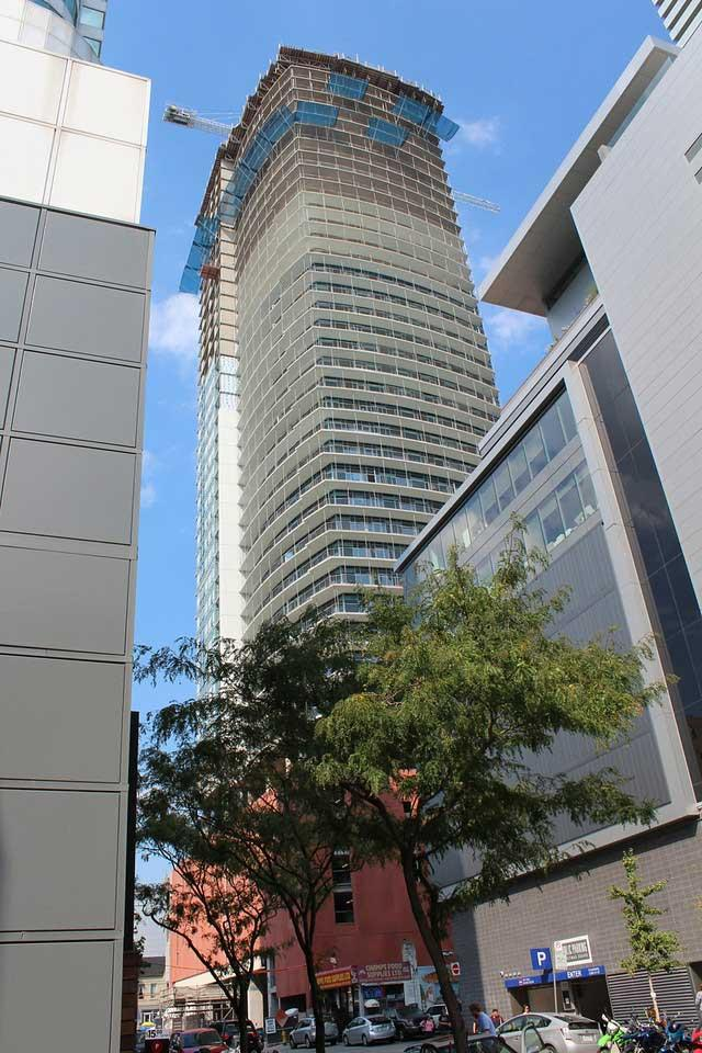 Daniels' Cinema Tower Condos, Toronto. Designed by Kirkor Architects
