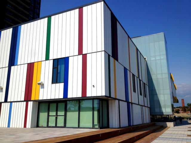 Daniels Spectrum, the Regent Park Arts and Cultural Centre, opens in Toronto